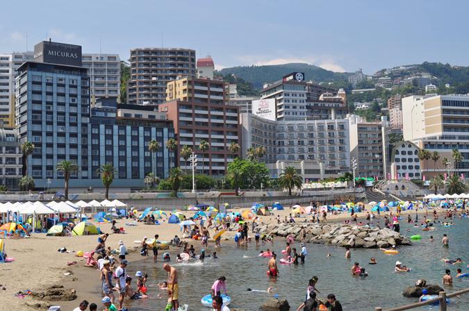 7月13日(土)熱海サンビーチ海水浴場海開き!