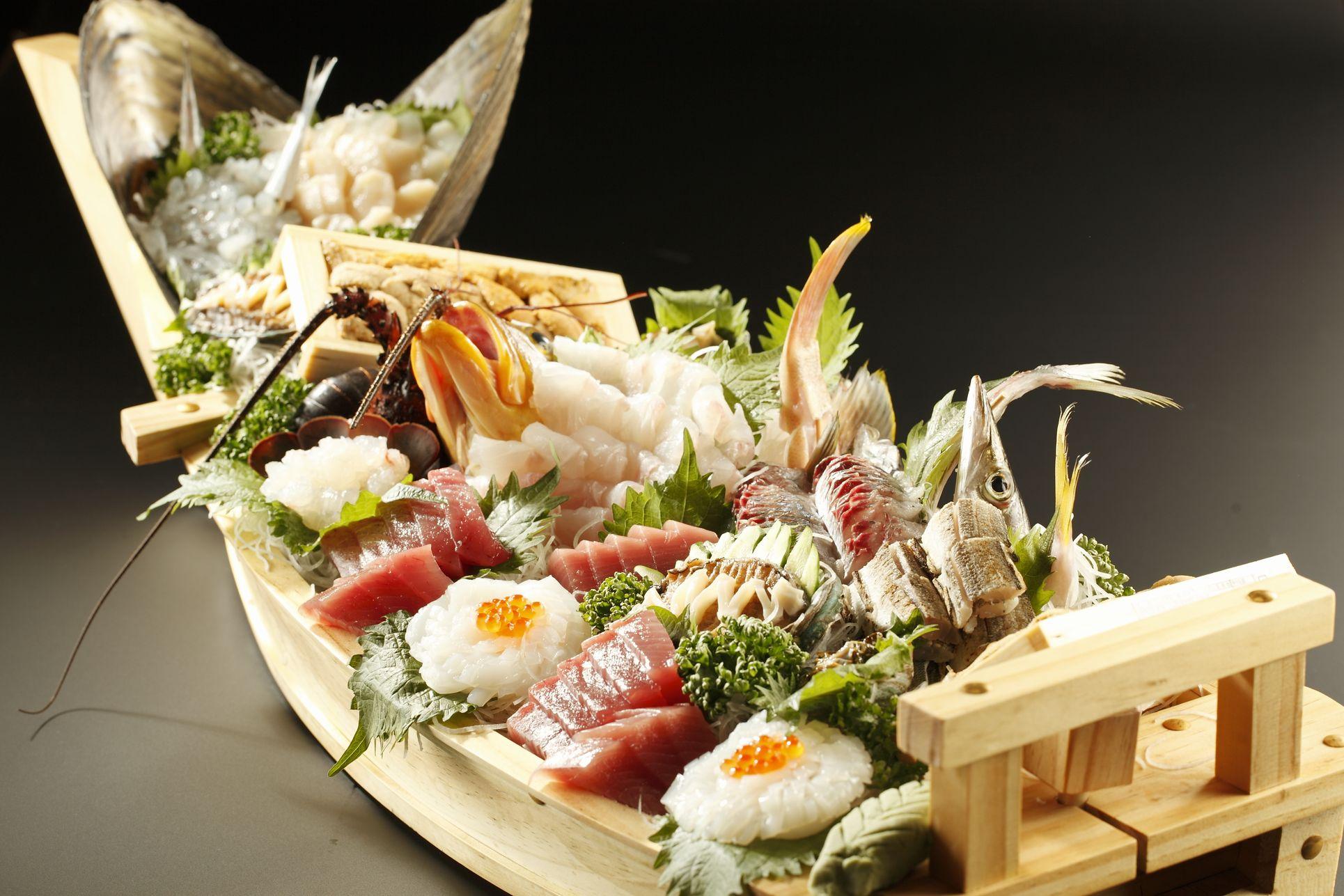 厳選地魚の舟盛り販売開始!