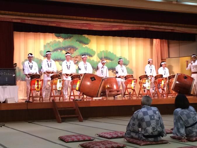 8/14 熱海囃子笛伶会の演奏がありました