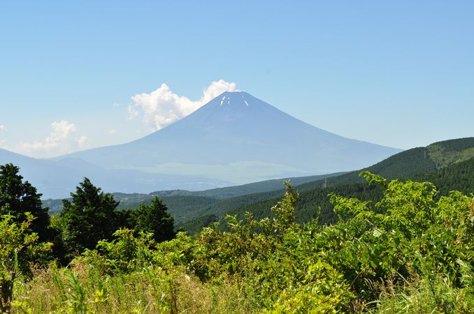 世界遺産登録目前の富士山