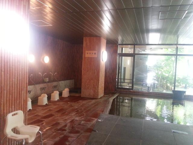 『サウナ』もあります。~大浴場にて~