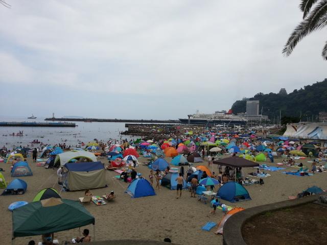 今夜は、熱海海上花火大会の開催日です。