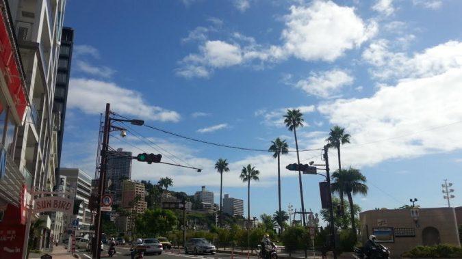 久しぶりに朝から晴天になりました。 8月25日