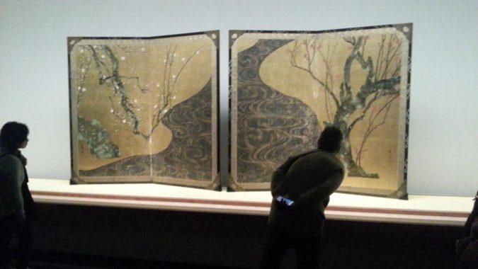 国宝「紅白梅図屏風」が公開中です。~MOA美術館~