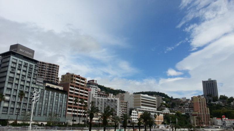 急速に天気が回復しています。 5月3日AM8:50