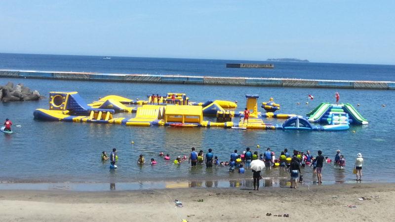 熱海サンビーチ『ウォーターパーク』がオープンしました。7月21日