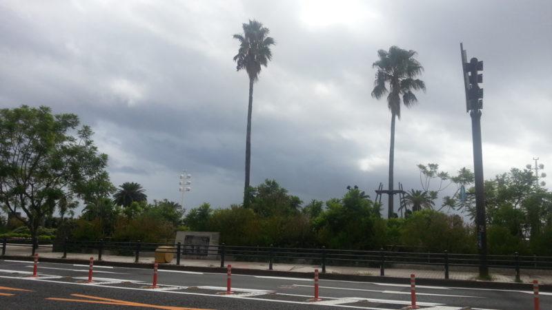 午後から雨の予報ですが・・・・8月23日(AM8:35)