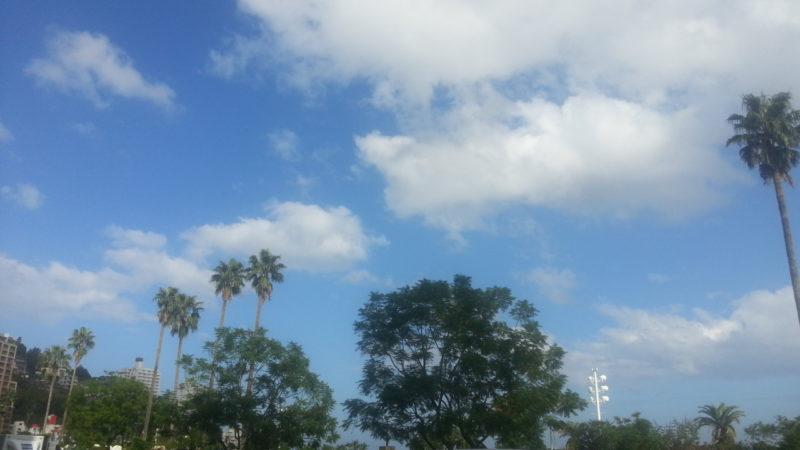 晴天になりました。 10月6日(土)PM14:00
