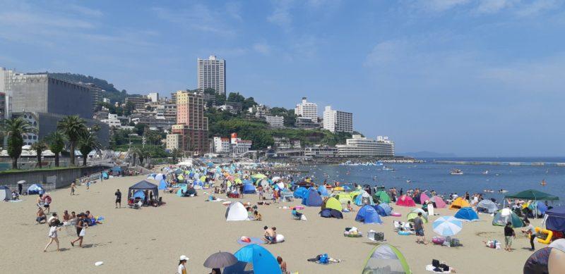 梅雨明けしたかのような猛暑の熱海温泉PM13:30