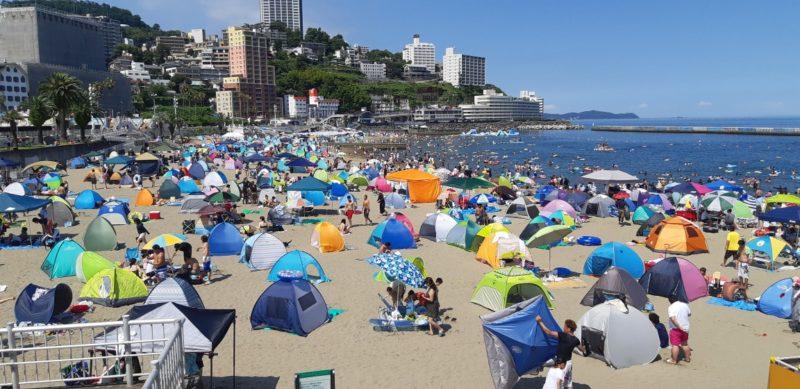 夏真っ盛り~熱海サンビーチ~8月4日PM14:00
