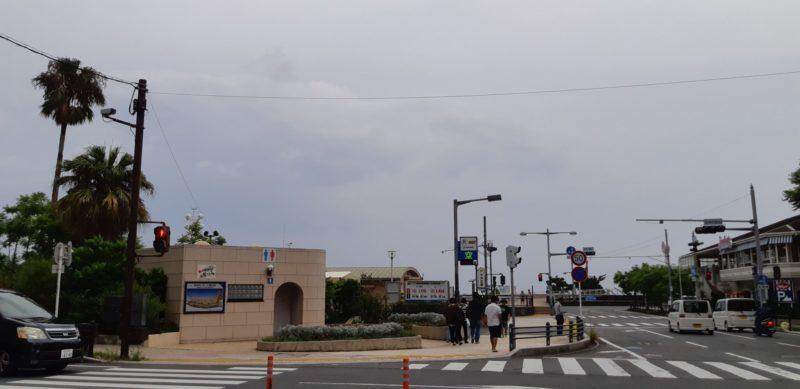 8月16日(金)AM8:40熱海サンビーチ交差点