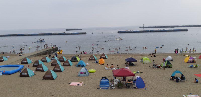 今日(20日)の湿度は、凄い、蒸し風呂のような熱海温泉。