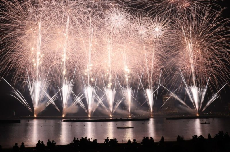 8月の『熱海海上花火大会』は、あと2回です。
