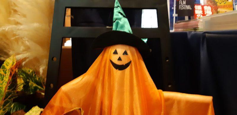 今日10月31日は、ハロウィンですね!