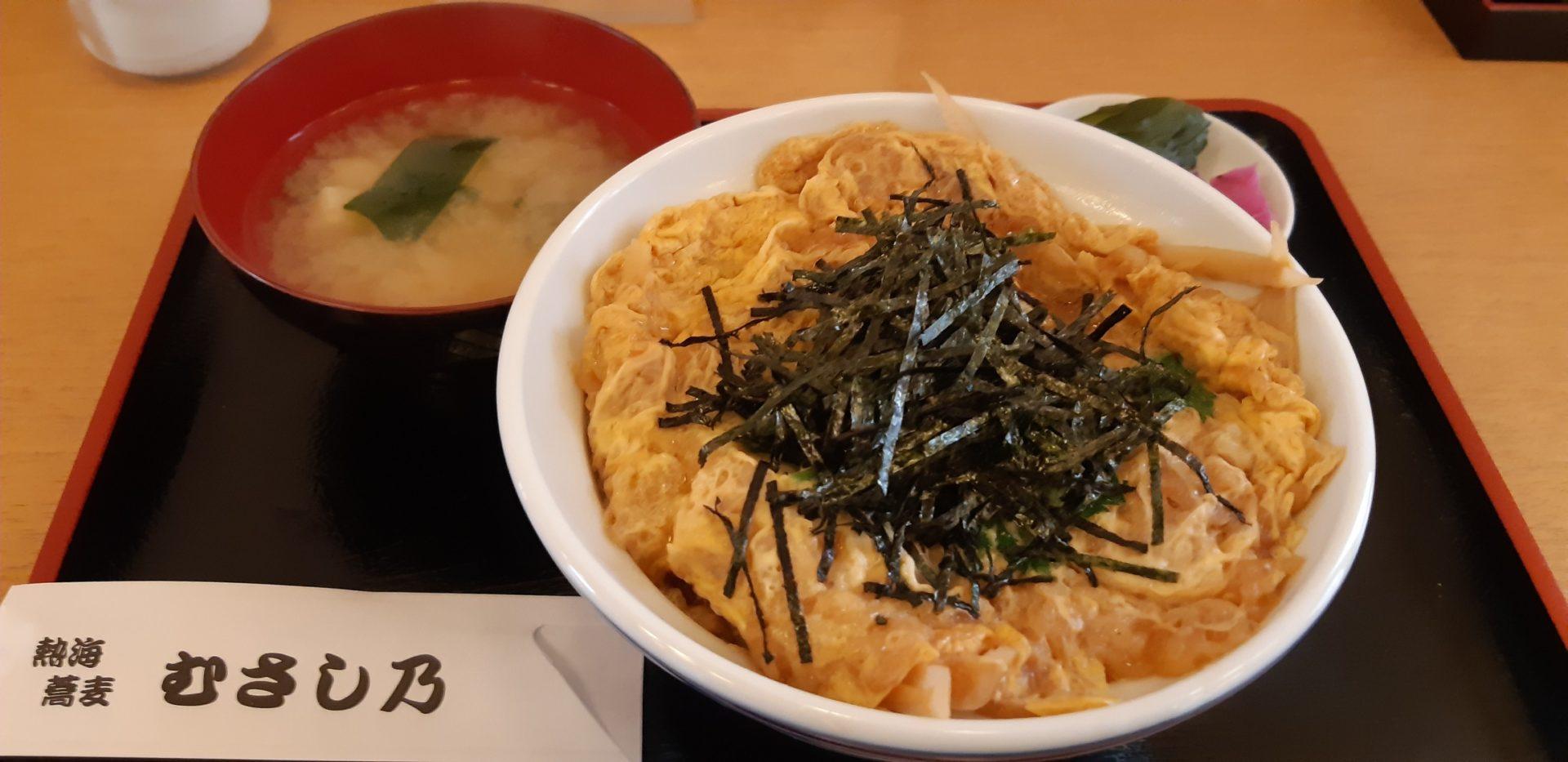 1月17日(金)の『糸川遊歩道のあたみ桜』と『むさし乃』の昼食