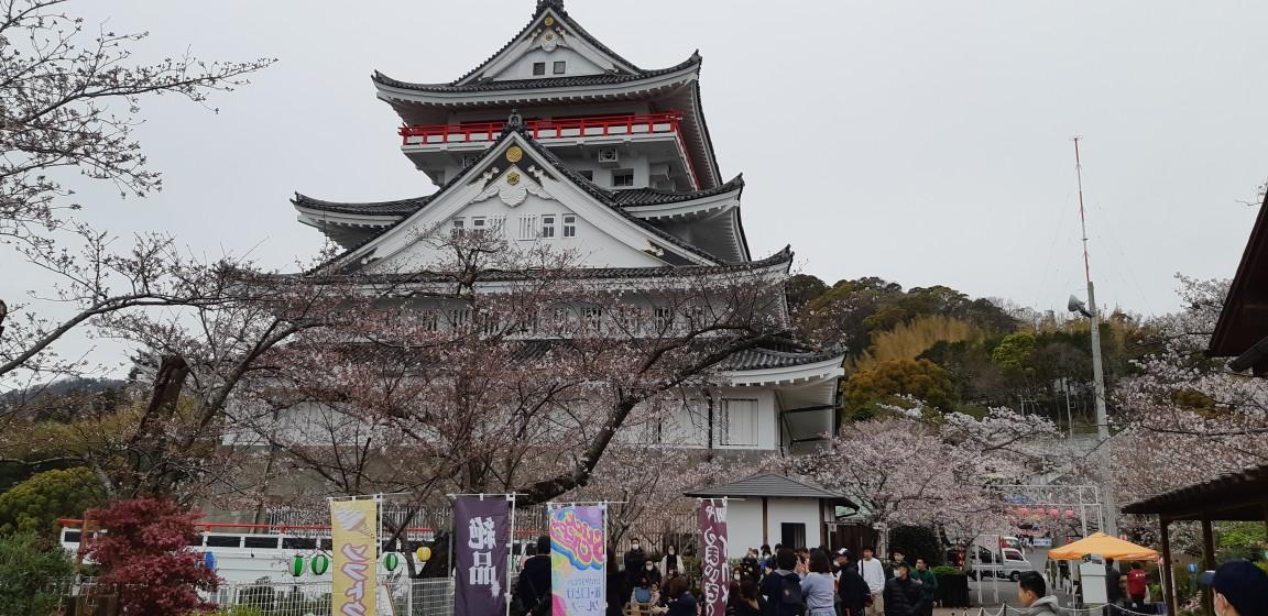 いつもと違う『熱海城桜まつり』(規模縮小営業)3月30日(月)