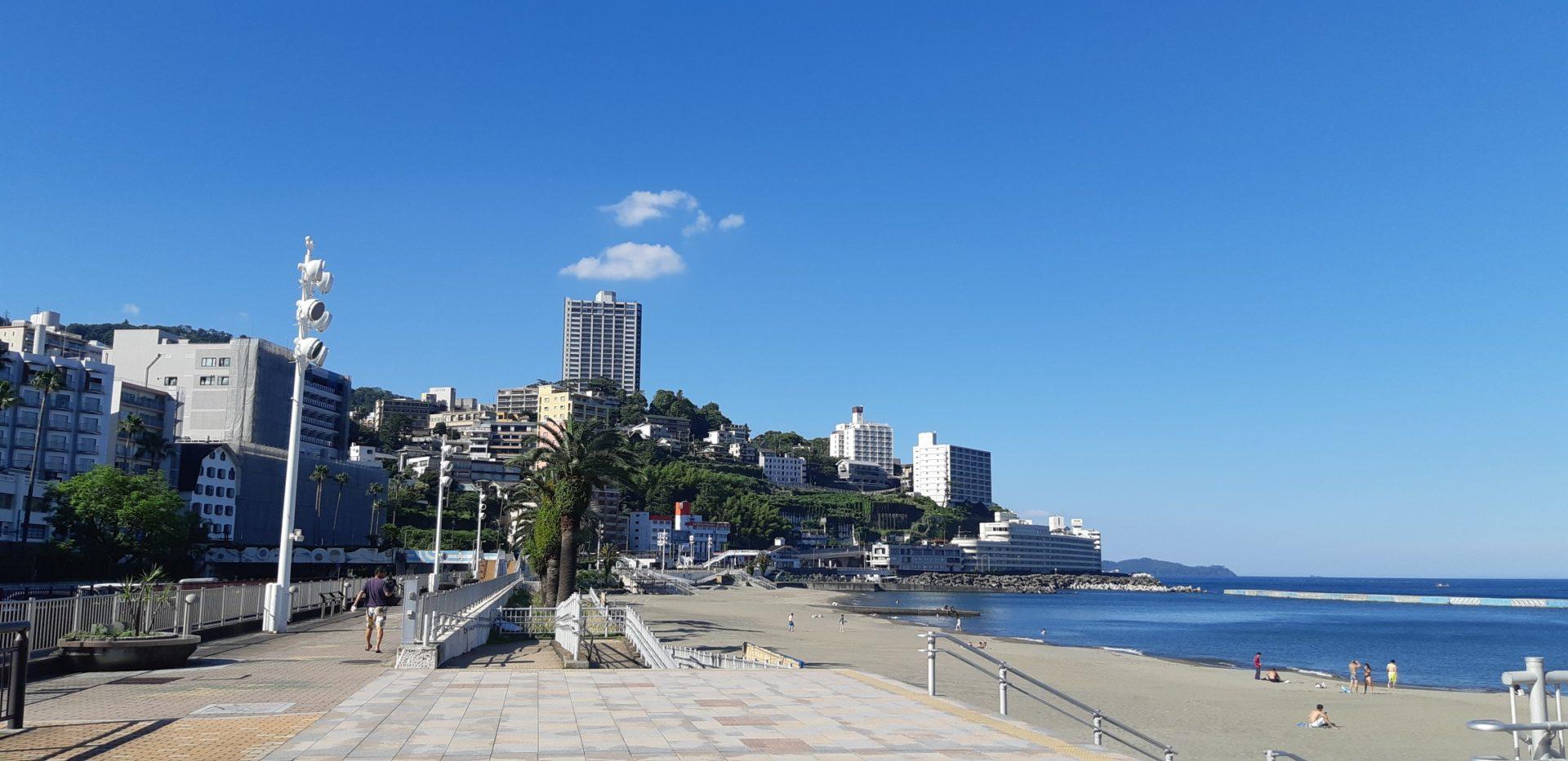 『熱海サンビーチ(海水浴場)』の開設が決定しました。(7月23日