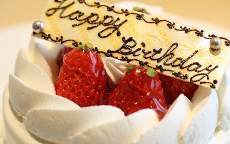 『ホテルミクラス』の特製ケーキ