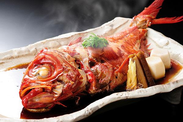 金目鯛 姿煮