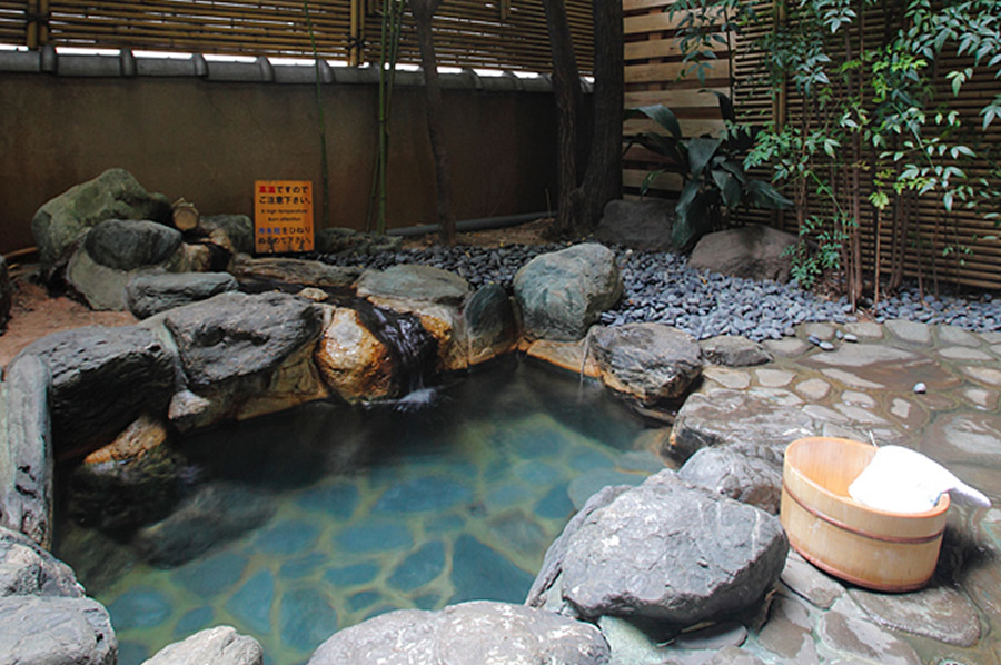 露天風呂客室